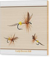 Lady Beaver Kill II Wood Print by Neal Blizzard