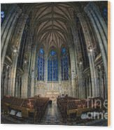 Lady Chapel At St Patrick's Catheral Wood Print