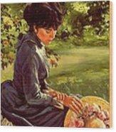 Lady Katherine Wood Print by Michael Swanson