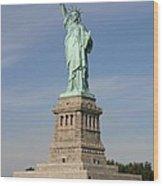 Lady Liberty 04 Wood Print