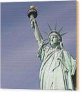 Lady Liberty 08 Wood Print