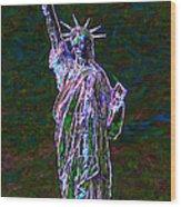 Lady Liberty 20130115 Wood Print