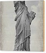 Lady Liberty No 6 Wood Print