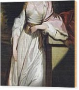 Lady Mary Isabella Somerset Wood Print by Robert Smirke