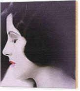 Lady O Wood Print
