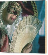 Lady Of Renaissance Wood Print
