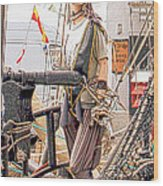 Lady Pirate Of Penzance Wood Print by Terri Waters