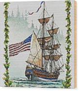 Lady Washington And Holly Wood Print