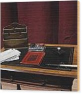 Lady Windermere's Fan Rehearsal No 4 Wood Print