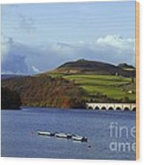 Ladybower Reservoir Wood Print