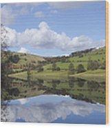 Ladybower Reservoir Wood Print
