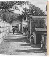 Lafayette Cemetery 2 Wood Print