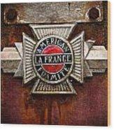 Lafrance Badge Wood Print