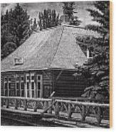 Laggan Station I Wood Print