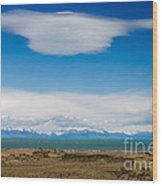 Lago Argentino In Patagonia  Wood Print