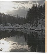 Lago Delle Streghe Wood Print