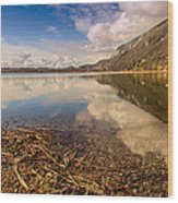 Lago Di Annone Wood Print