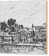 Lago Di Maggiore - Mergozzo Wood Print