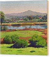 Lago Lindo Rancho Santa Fe Wood Print