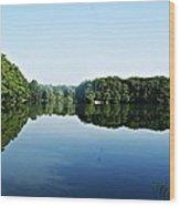 Lagoon II Wood Print