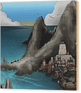 Lagott Island Wood Print