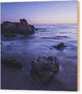 Laguna Beach Sunset In Ca Wood Print
