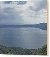 Laguna De Apoyo Nicaragua 2 Wood Print