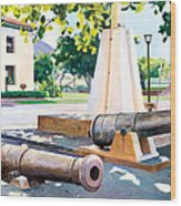 Lahaina 1812 Cannons Wood Print