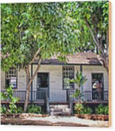 Lahaina Building 2 Wood Print