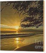 Lahaina Sun Burst Wood Print