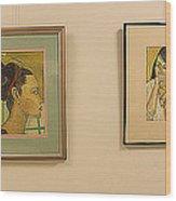 Lahey Clinic Portraits 2 Wood Print