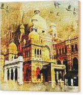 Lahore Museum Wood Print by Catf