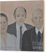 Lahoud Family Wood Print