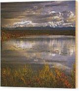 Lake 19 Wood Print
