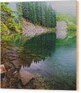 Lake 8 Wood Print