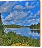Lake Abanakee - Indian Lake New York Wood Print
