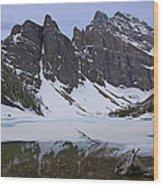 Lake Agnes #2 Wood Print