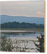 Lake Along Klondike Highway-yt Wood Print