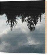 Lake At Glen's Wood Print