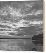 Lake Auburn  7p00297 Wood Print