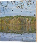 Lake Bailey Petit Jean State Park Wood Print