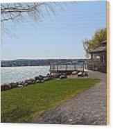 Lake Canandaigua  Wood Print