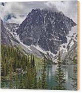 Lake Colchuck Gateway To The Enchantments Wood Print