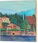 Lake Como Wood Print