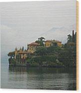 Lake Como No. 1 Wood Print