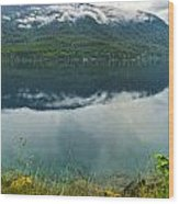 Lake Crescent - Washington - 03 Wood Print by Gregory Dyer