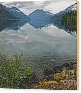 Lake Crescent - Washington - 04 Wood Print
