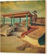 Lake Delores Water Park 2 Wood Print