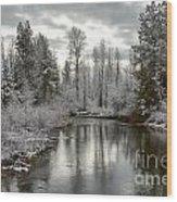 Lake Fork Wood Print