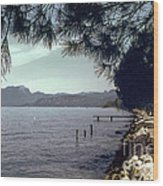 Lake Garda Wood Print